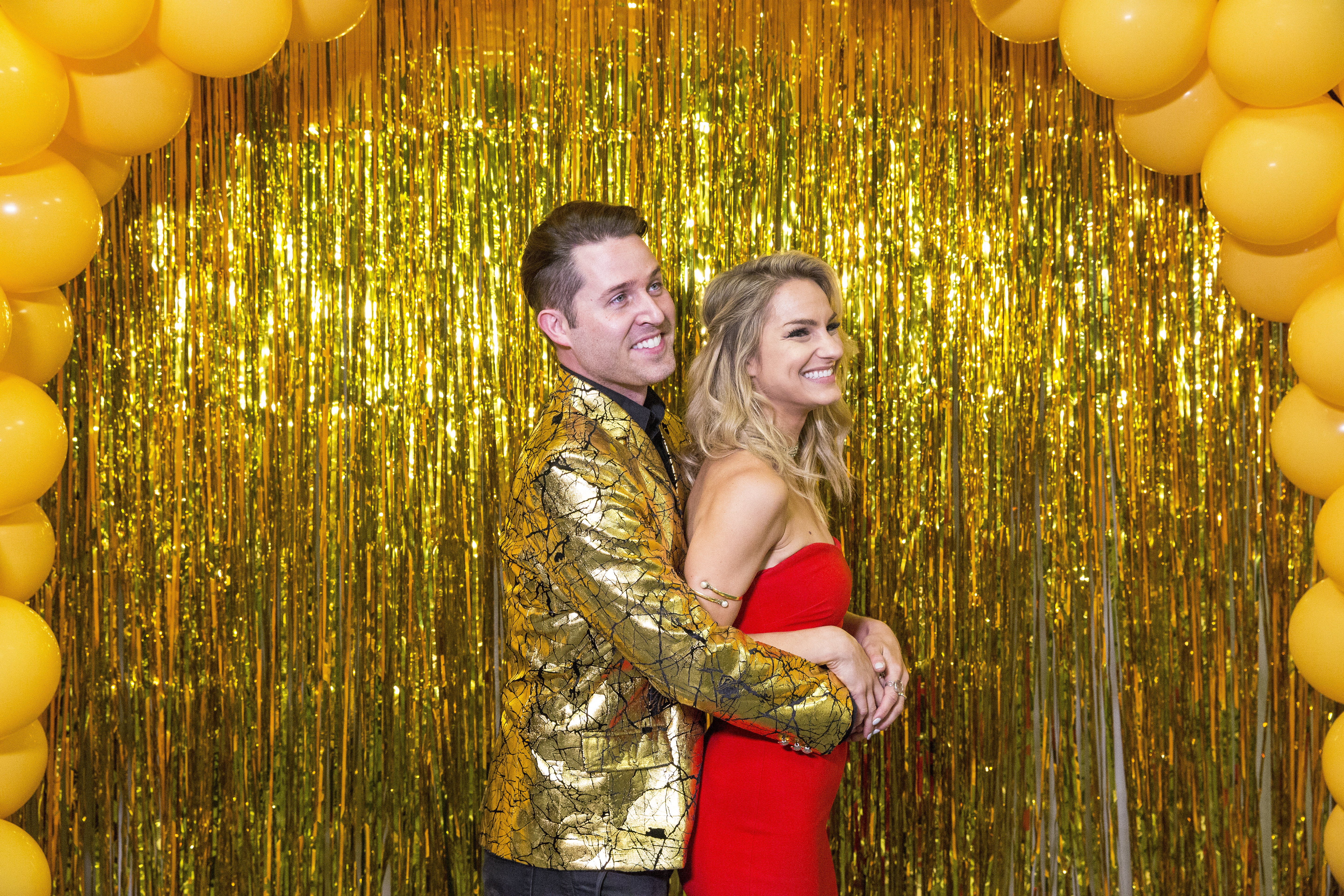 twix prom hosts photo booth