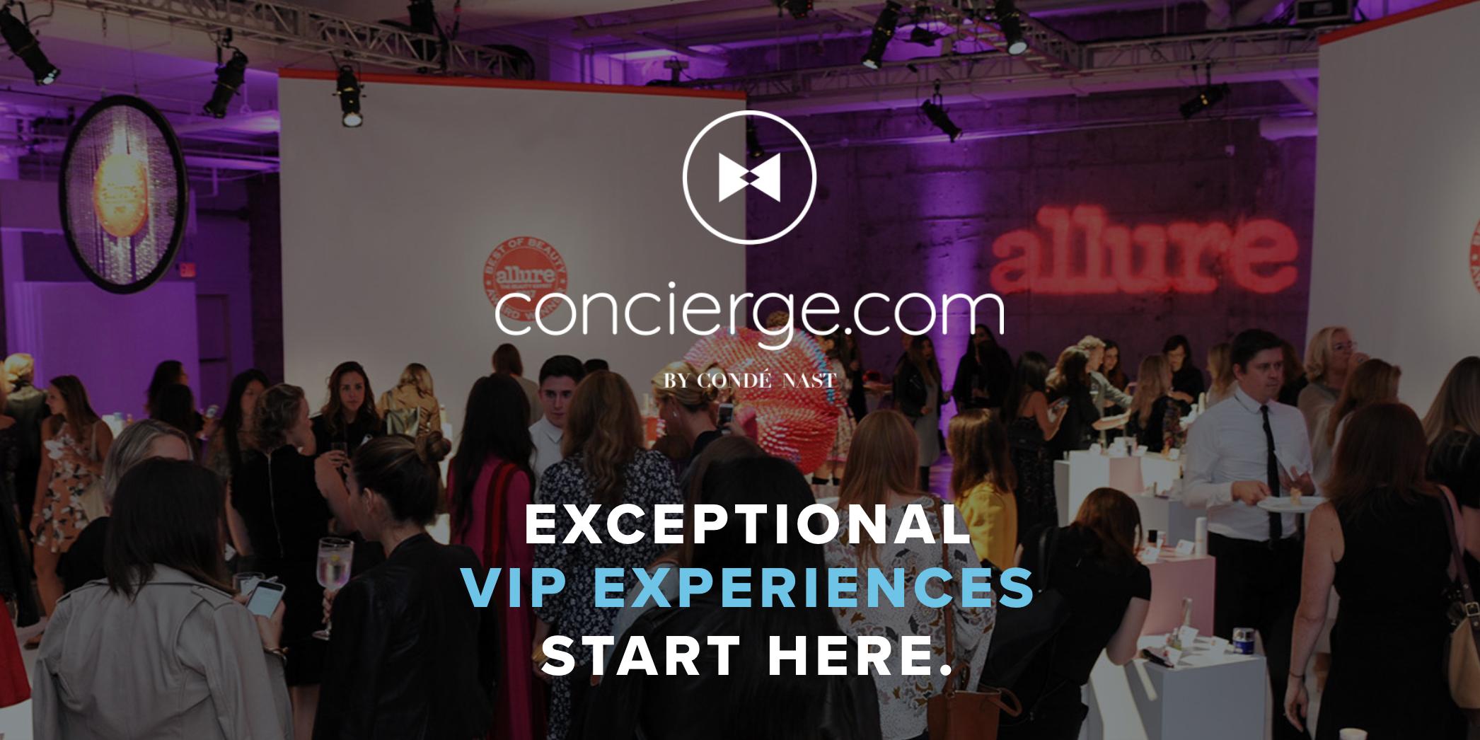 concierge vip experience